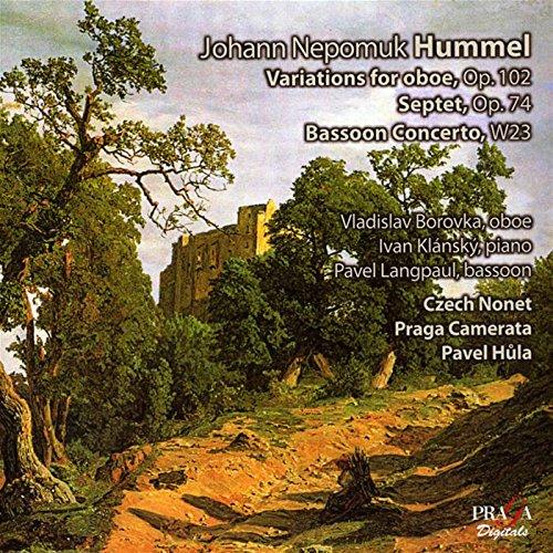 (Hummel: Variations for Oboe, Septet, Bassoon Concerto)
