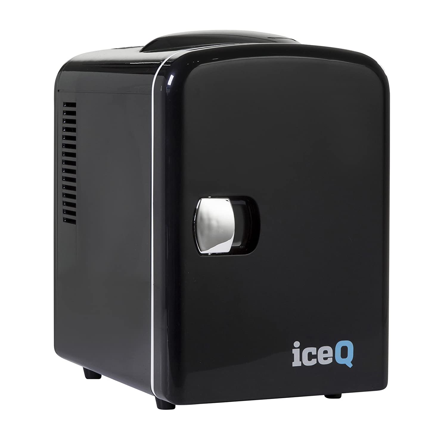 iceQ 4 Litre Small Mini Fridge Cooler - Black
