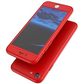 SainCat Funda Compatible con iPhone 7 360 Grados Lujo Moda ...
