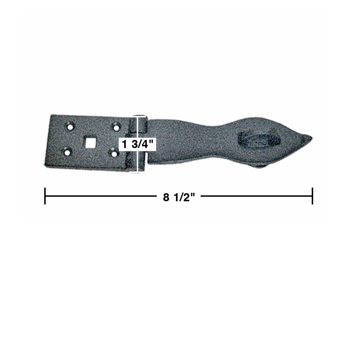 Blue 50//Pack Hillman Group Rsc 41392 Hillman Plastic Anchors Size 8-10 X 7//8  5 Lb