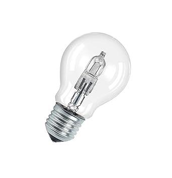Osram Halogen-Lampe, Classic A, E27-Sockel, Dimmbar, 77 Watt ...