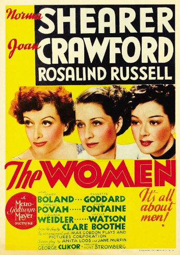 The Women Poster Movie C Norma Shearer Joan Crawford Rosalind Russell Joan Fontaine