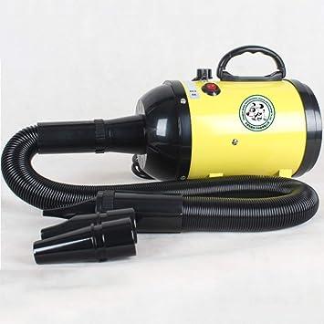 CCWW Secador de Pelo para Perros Secador de Mascotas Dog 2600W Motor Dual - Velocidad Continua