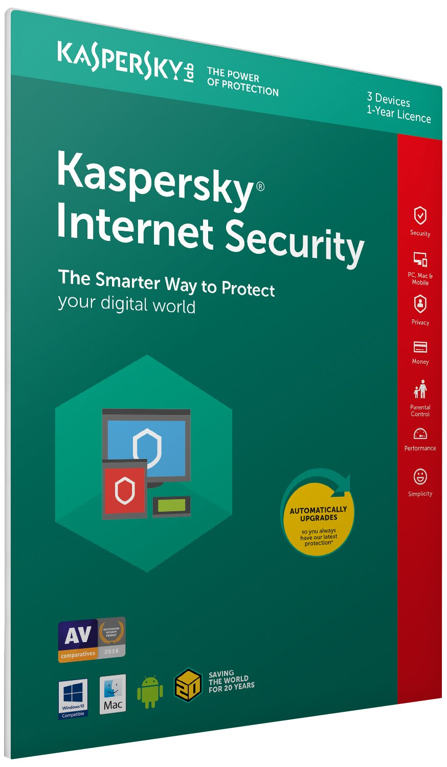code dactivation pour kaspersky android