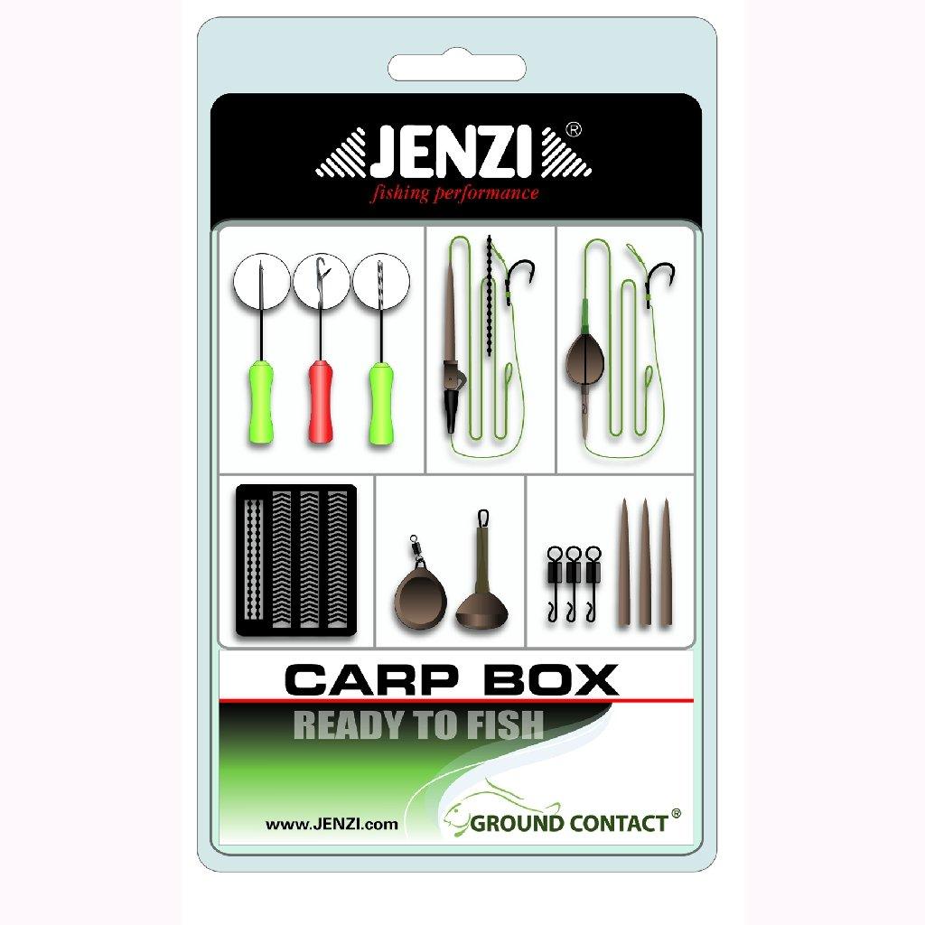 Jenzi Carp Box Starter Set f/ür Karpfenangeln