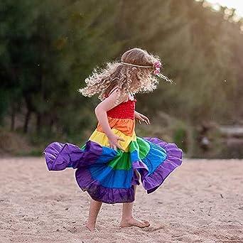 Kleid M/ädchen URSING Neugeborenes Baby Blumendruck Sommerkleid Blumenkleider Prinzessinenkleid Prinzessin Kleid Babykleid Sundress mit Bowknot Hut Sonnenschutz Sunhat Outfit Set