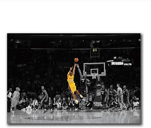 Kobe Bryant Baloncesto LeBron James Carteles e impresiones Art ...