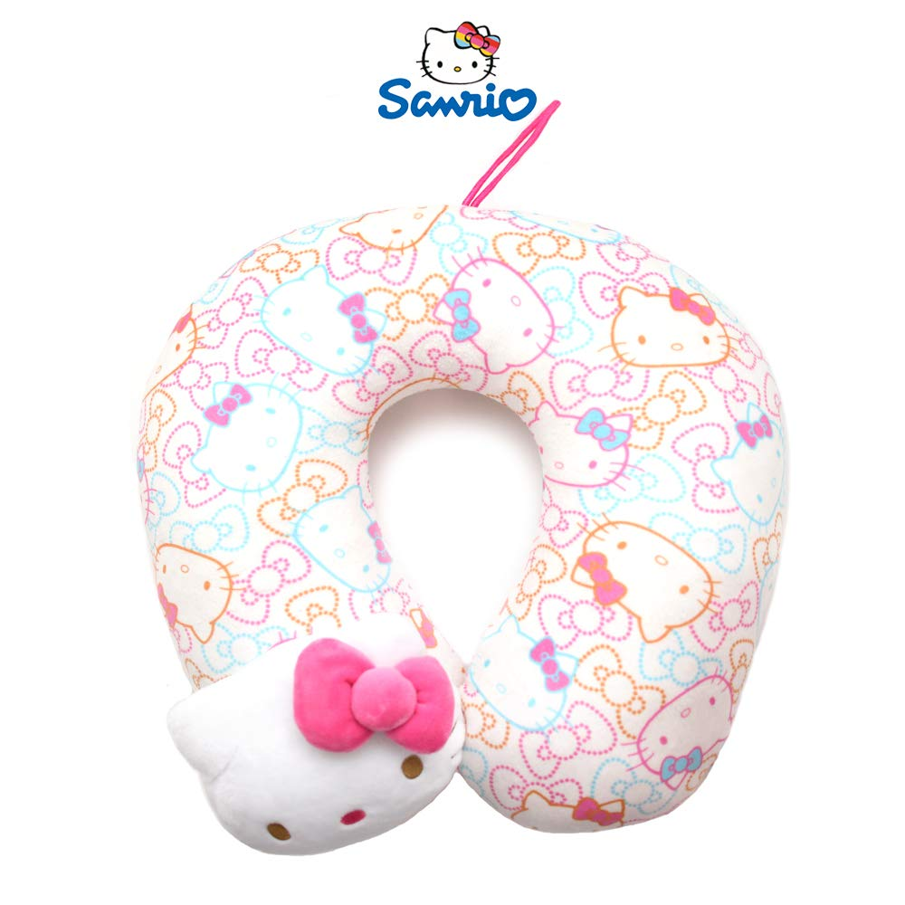 Sanrio Hello Kitty Soft Neck Cushion Neck Pillow Travel Pillow : Color Ribbon