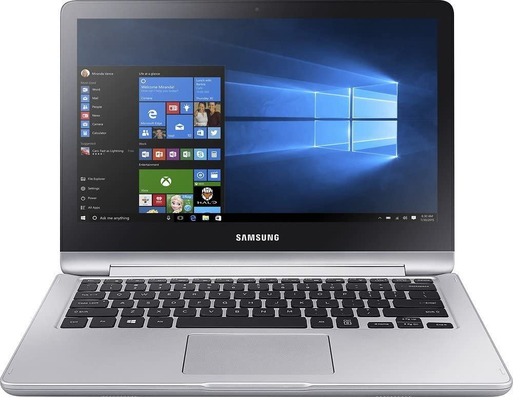Samsung Notebook 7 Spin 2in1 13.3 Full HD TouchScreen Laptop - Intel Core i5-7200U ,12GB Memory ,1TB Hard Drive,windon 10 home-P