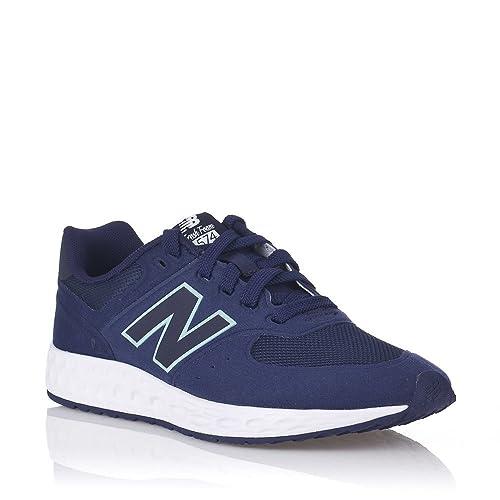 sports shoes d8a6a ff5b7 Baskets New Balance KFL574 OP 35 Bleu: Amazon.fr: Chaussures ...