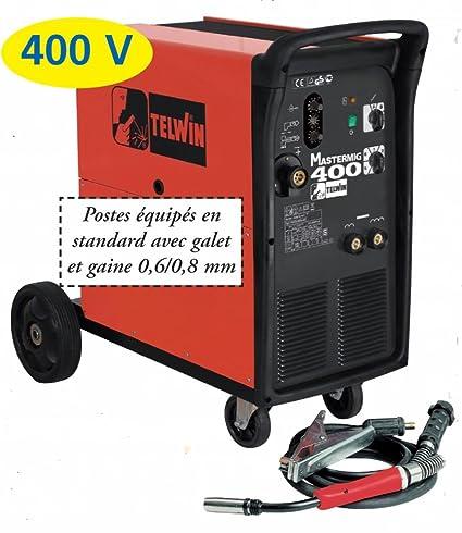Telwin Mastermig 400 - Soldadora Mig-Mag