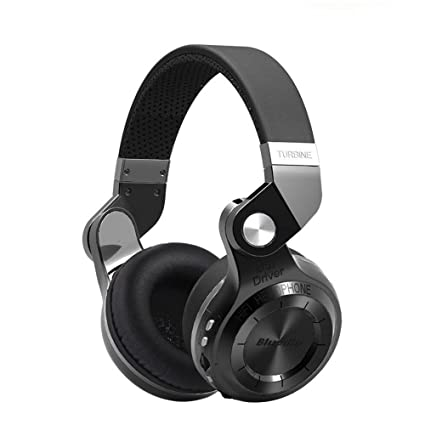 Kobwa turbina Wireless Bluetooth Auriculares, T2 Plus plegable hi-fi estéreo inalámbrico Auriculares,