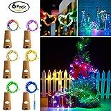 Wine Cork lights, Bottles Cork Lights,Led Cork Lights,Wine Bottle Lights Battery Powered ,Wine Bottle String Lights for Party Wedding and Christmas