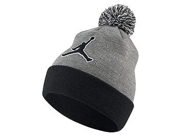 a5a9c377593f21 ... france nike jordan beanie graphic mens hat carbon heather black black  one aaa19 c9553