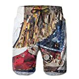 Men's Shorts Swim Beach Trunk Summer Texas Cowgirl Boot Creative Fit Fashion Shorts With Pockets
