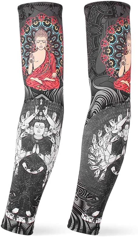 CAO-FU Estilo Chino Tatuaje Brazalete Brazo Impresión Digital ...