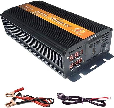Wge 36v Dc Zu 220v Ac Wechselrichter Stromrichter Wechselrichter Autosteckdose 3000w Küche Haushalt