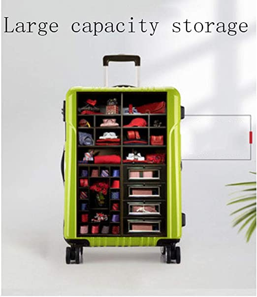 Color : C, Size : 20 inches HUANGDA Ultra Lightweight ABS Hard Luggage Trolley Bag-Carry On Travel Suitcase//Built in Lock//4 Wheels Spinner-Telescopic Handle
