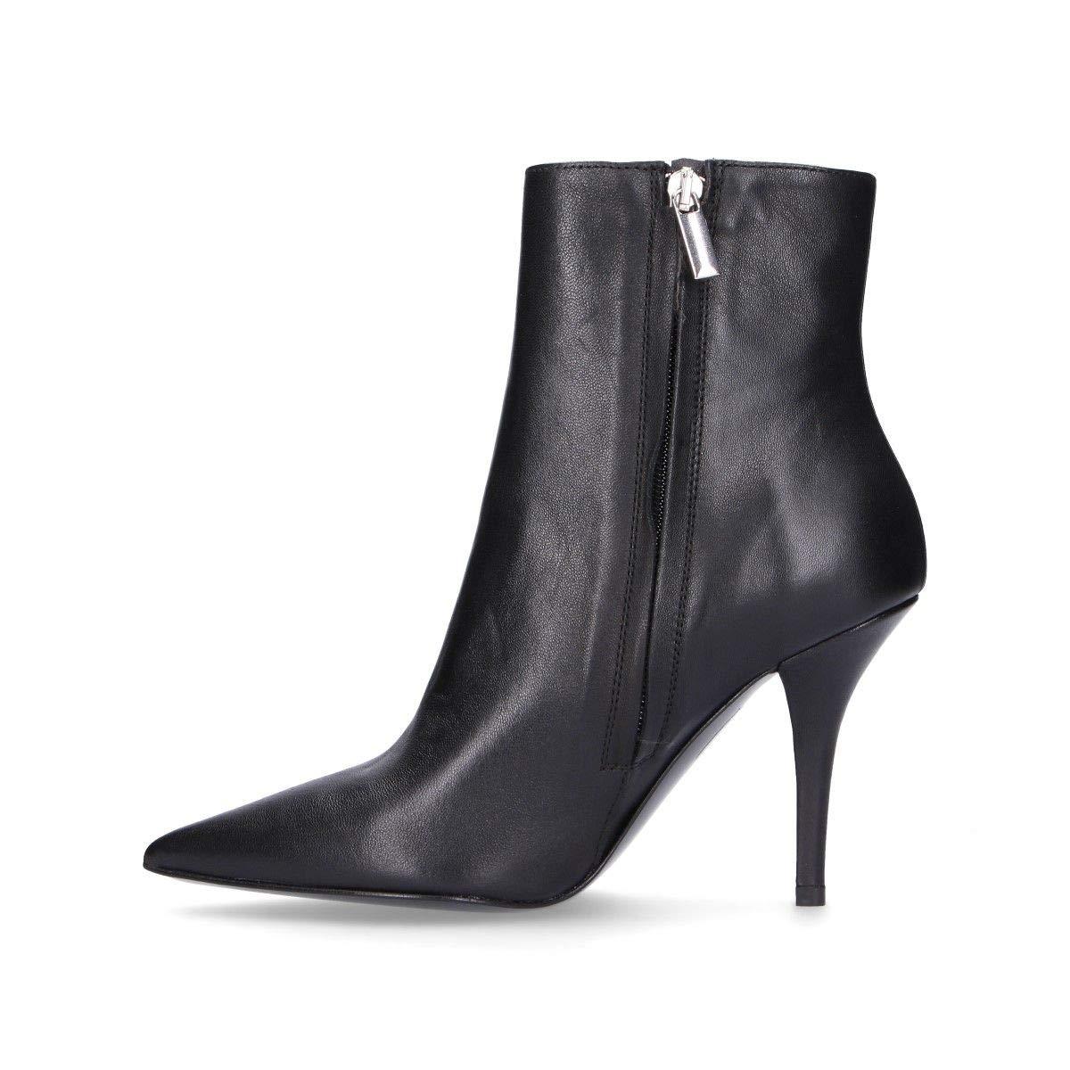 Season Permanent DI LUNA Luxury Fashion Womens C2960BLACK Black Ankle Boots