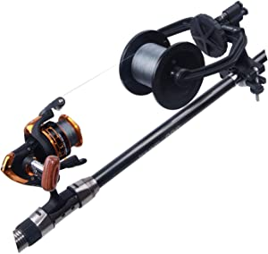 Fishing Line Spooler System - Portable Fishing Line Winder Reel Spooler Spooling Station Baitcast Line Spooling Machine Fishing Tool