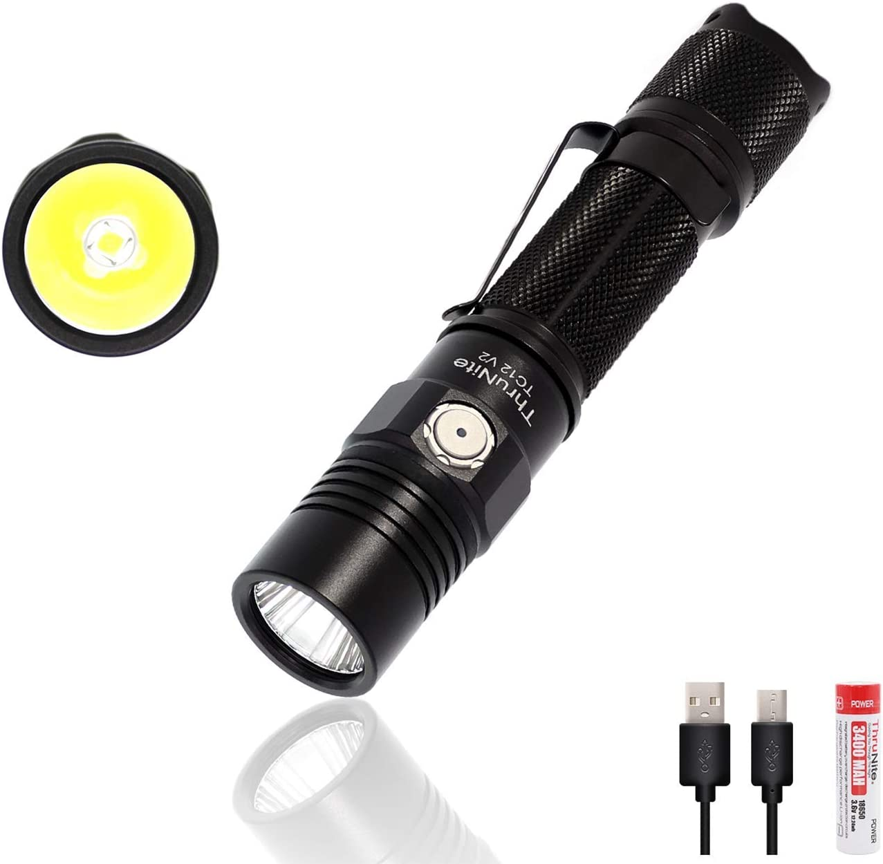 Firefly LED 60 Lumen Tactical Water Resistant Camping Hiking Torch