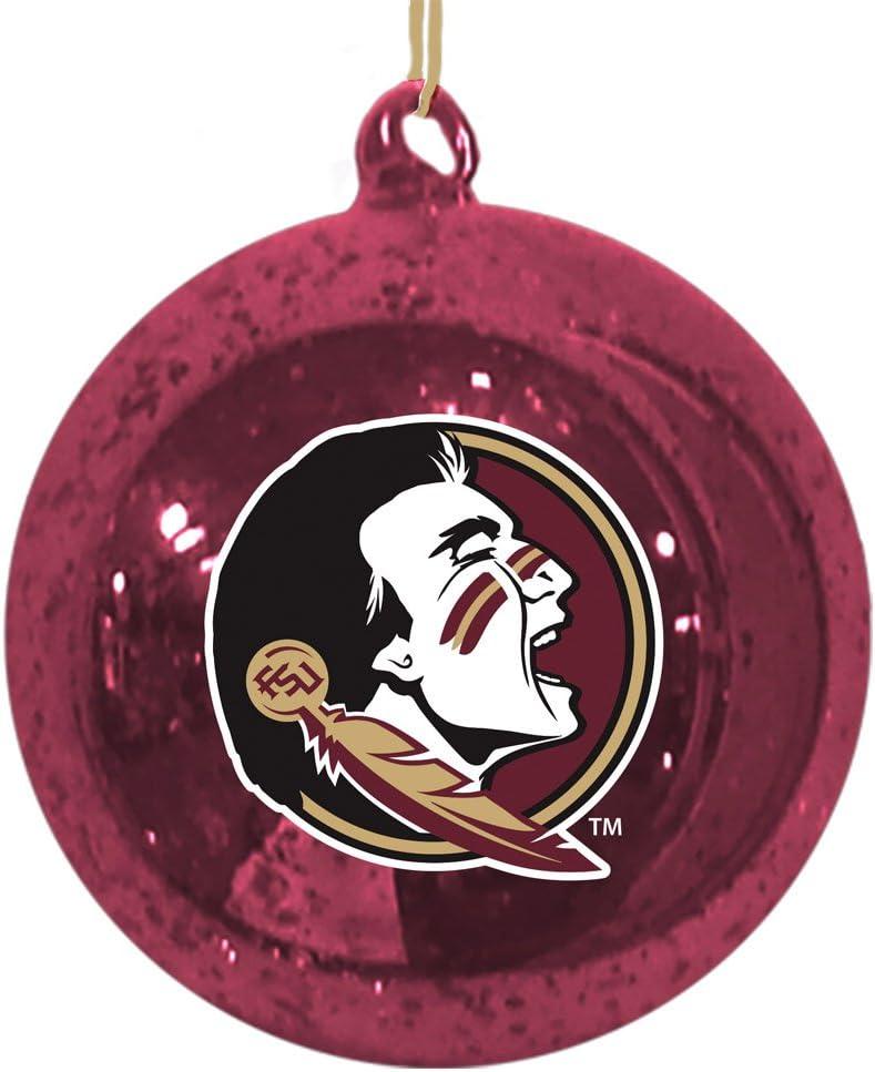 Team Sports America NCAA Mercury Glass Ball Ornament
