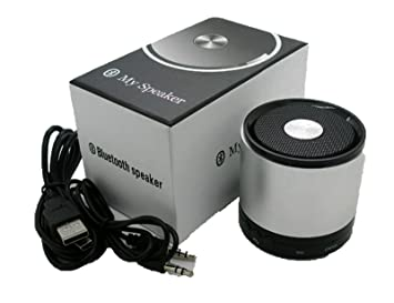 Mini Altavoz Bluetooth con Microfono y Amplificador para iPod iPhone Pc 2554pl
