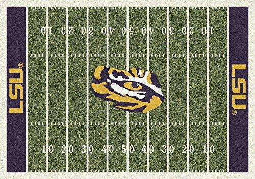 Milliken 4000054633 LSU College Home Field Area Rug, 3'10'' x 5'4''