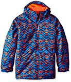 Columbia Boys Twist Tip Jacket, X-Large, Super Blue Print
