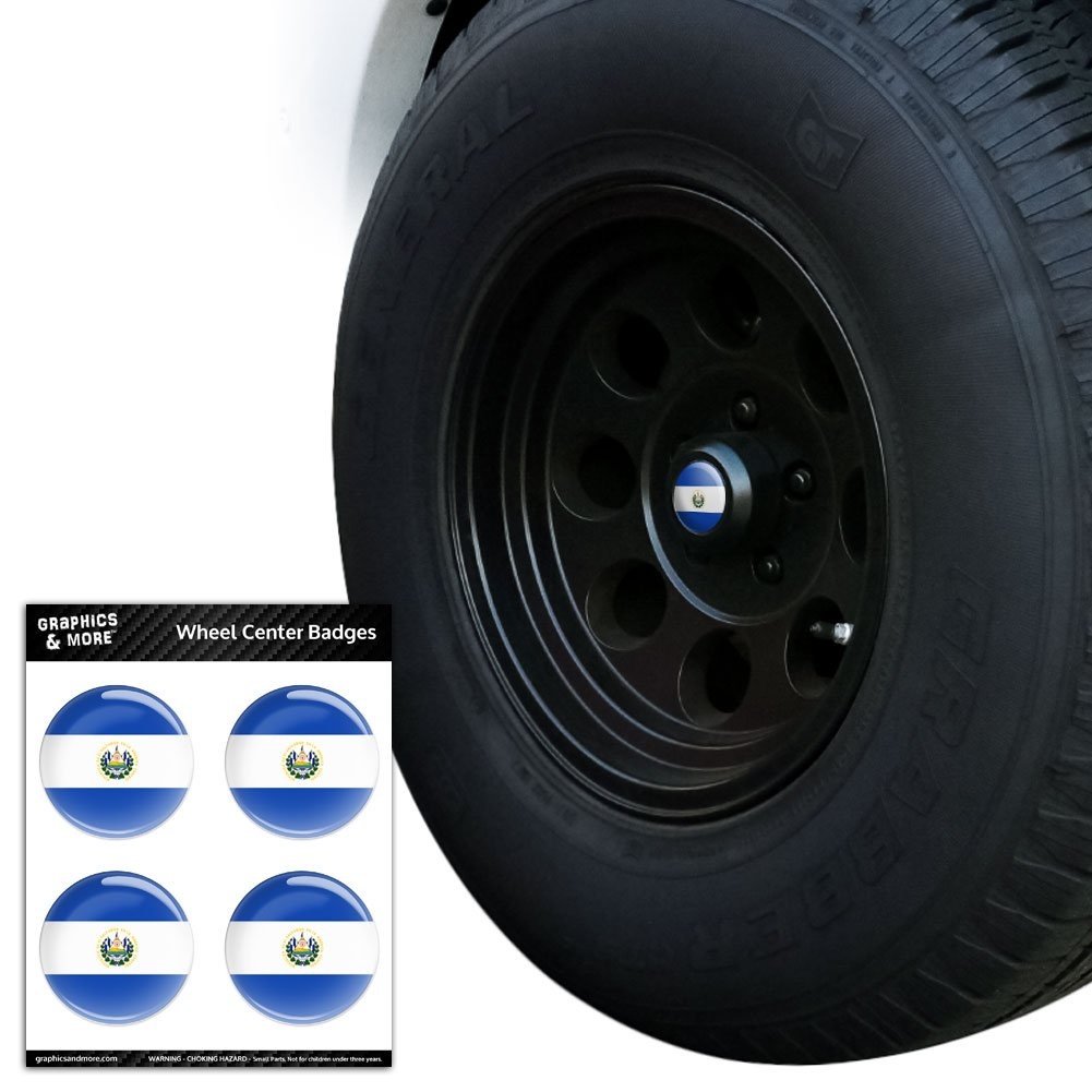 National Tire And Wheel >> Amazon Com El Salvador National Country Flag Tire Wheel