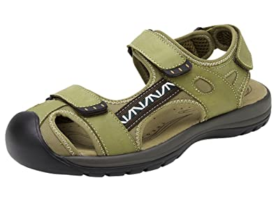 87e1bc6e0bb0 Wentsven Womens Athletic Beach Hiking Closed Toe Sandals Green 43 11 D AU