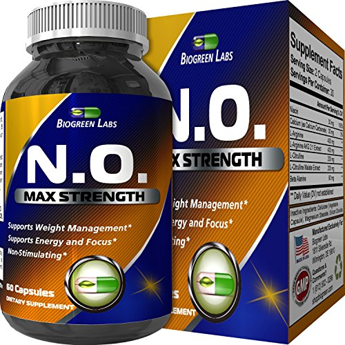Pre Workout Nitric Oxide Supplement product image