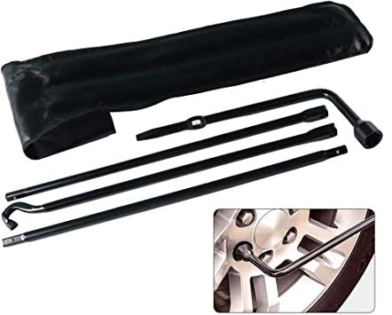 Replacement For 2005-2013 Toyota Tacoma Jack Spare Lug Wrench Tire Tools Set