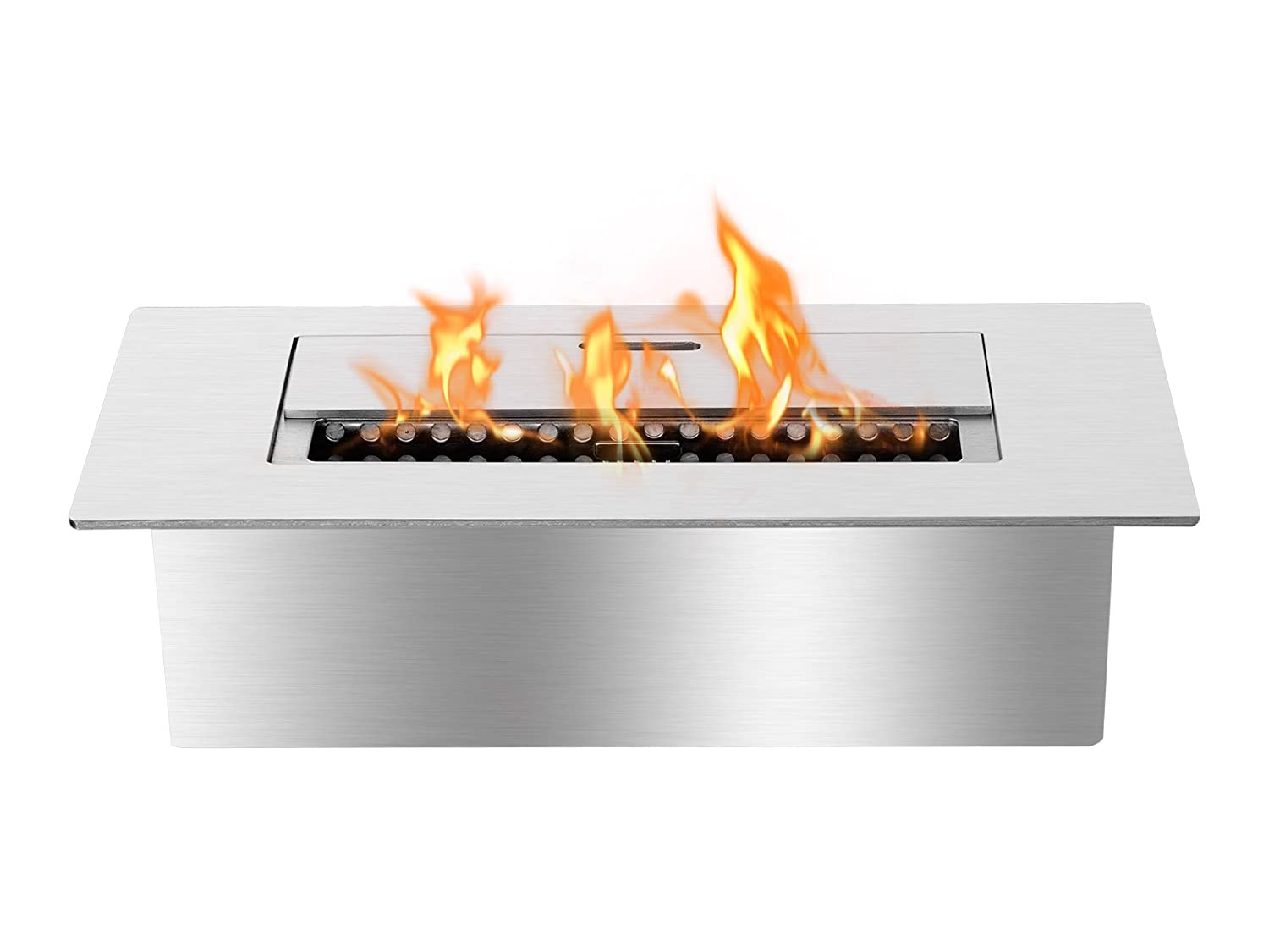 amazon com ignis eb1200 ethanol fireplace burner insert home