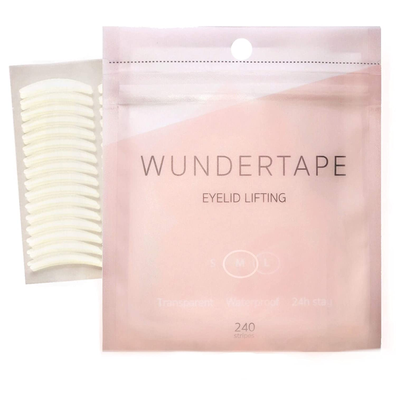remedio cintas para párpados ojos caídos WUNDERTAPE