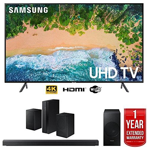 "Samsung UN55NU7100 55"" NU7100 Smart 4K UHD TV  with SAMSUNG"