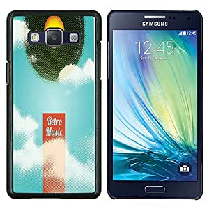 Dragon Case - FOR Samsung Galaxy A5 A5000 A5009 - ?start a new begining - Caja protectora de pl??stico duro de la cubierta Dise?¡Ào Slim Fit