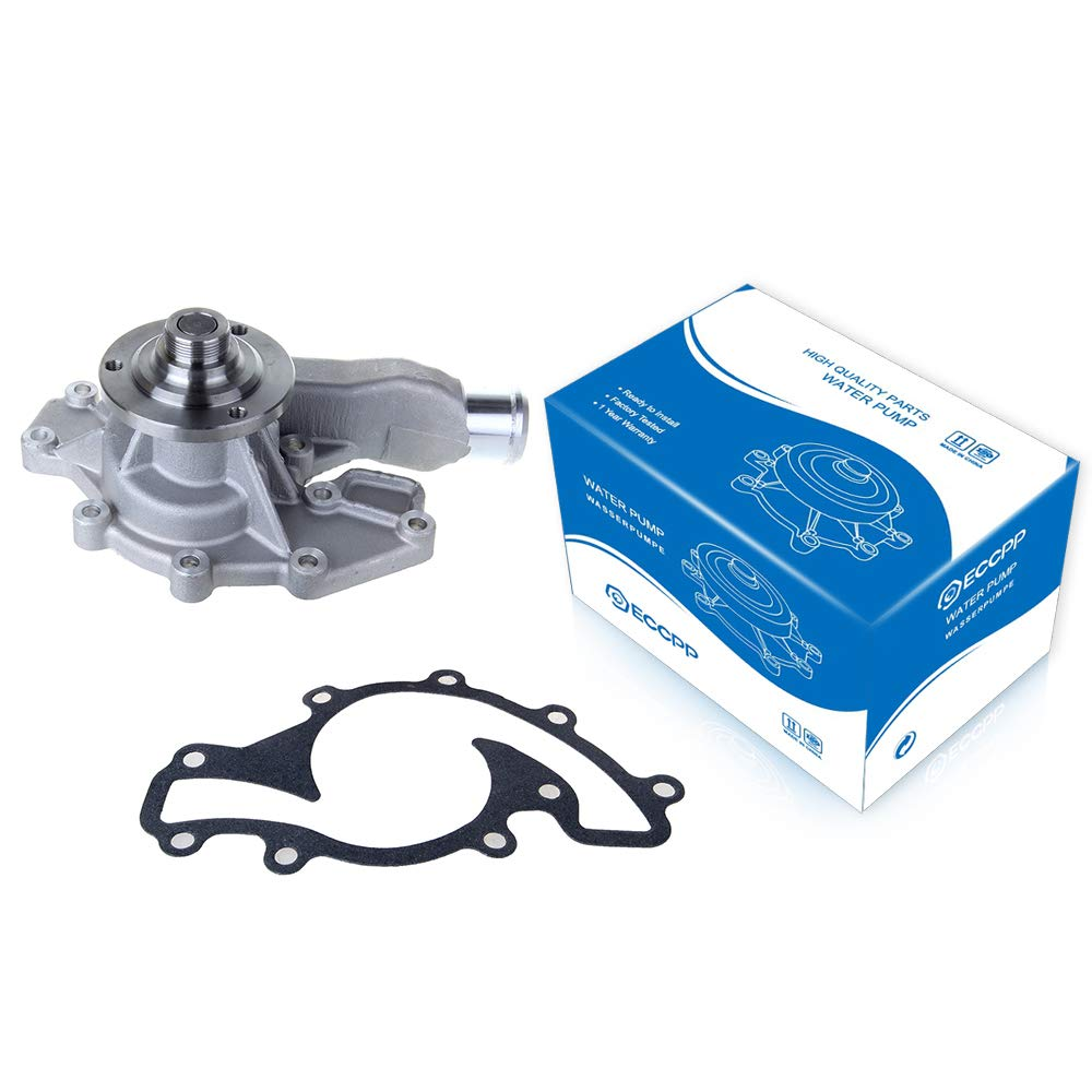 Engine Water Pump with Gasket, ECCPP fits 1993 1994 1995-2002 Land Rover Range Rover 3.9L 4.0L 4.6L V8