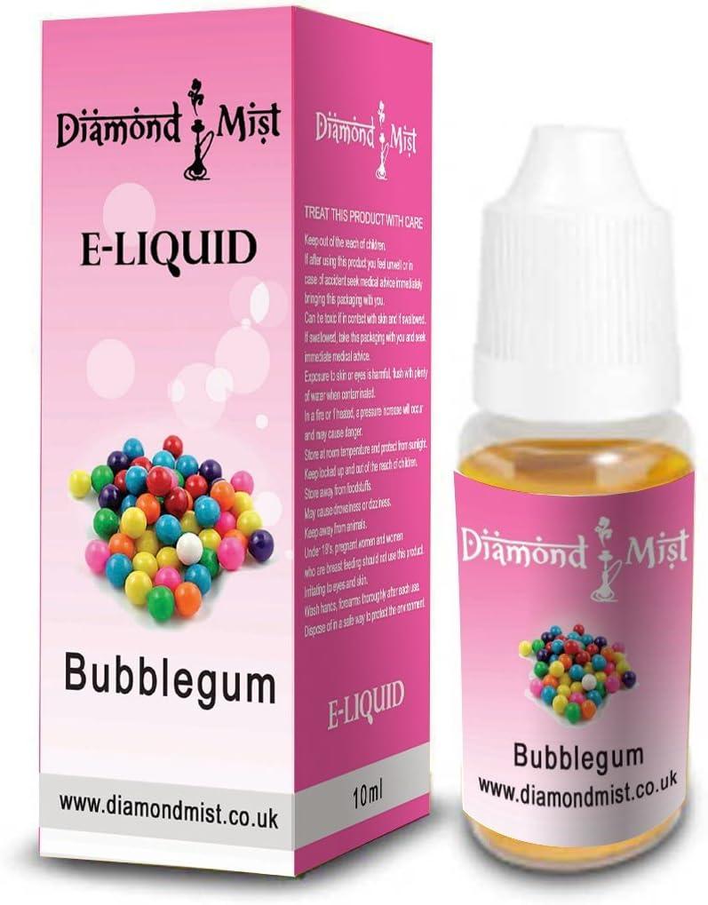 Diamon Mist - E-Liquid Sabor Chicle de 10ml: Amazon.es: Salud y ...