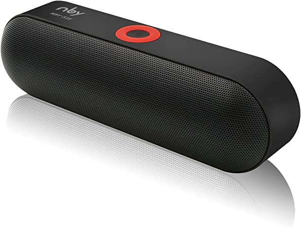 Amazon Com Bluetooth Speaker Nby S18 Portable Wireless Speaker With Hd Sound And Bass 24 Hours Playtime With Dual Drivers Built In Mic For Iphone Ipad Samsung Electronics