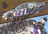 AUTOGRAPHED Denny Hamlin 2014 Press Pass Racing VELOCITY Signed Collectible NASCAR Insert Trading Card with COA (#V 3/9)