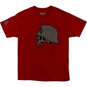 Metal Mulisha Mens Fast And Loud Short-Sleeve Shirt 2X-Large Cardinal