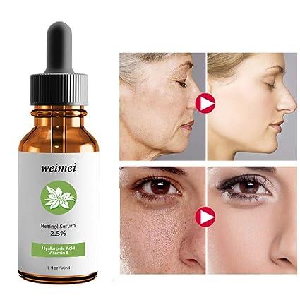 Retinol Serum – Sérum facial tópico – ayuda a reducir la apariencia de arrugas, líneas