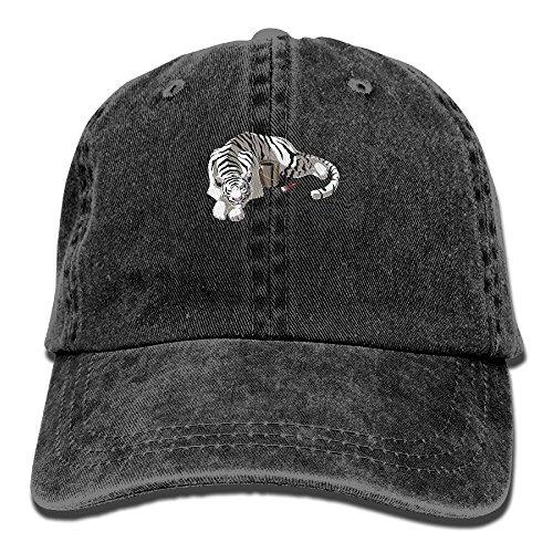 Baseball Cap Changing Stripes - Adjustable Trucker Hat Cotton Denim, DanLive Changing Stripes