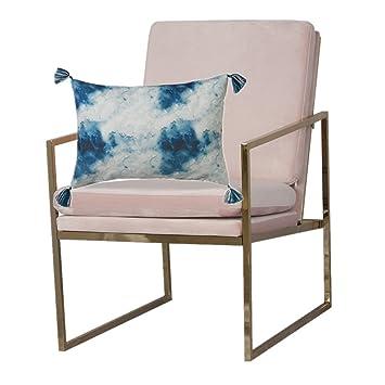 Hemma Bruket Sessel Stühle Armlehnensessel für Wohnzimmer, Velvet ...