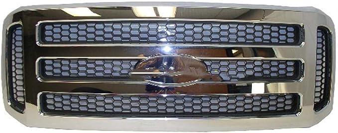 fantasycart 05-07 F250//F350 Super Duty//Excursion Billet Grille Grill Honey Comb