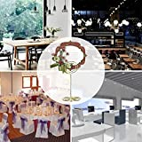 AIEVE Table Card Holders - 24 Pack Wire Shape Place Card Holders Table Number Holders Table Photo Holder Table Pictures Stand for Place Cards Wedding Party Office Desk Name Memo Menu Clips