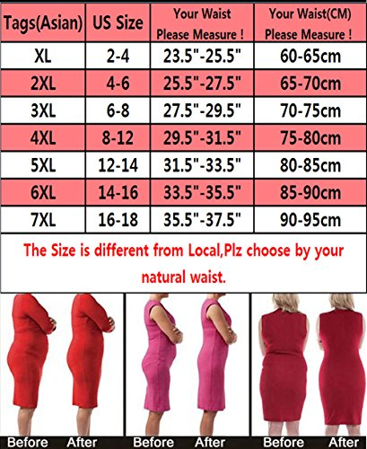 58ca524ebb Hioffer Women s Butt Lifter Shaper Bum Lift Pants Buttock Enhancer ...