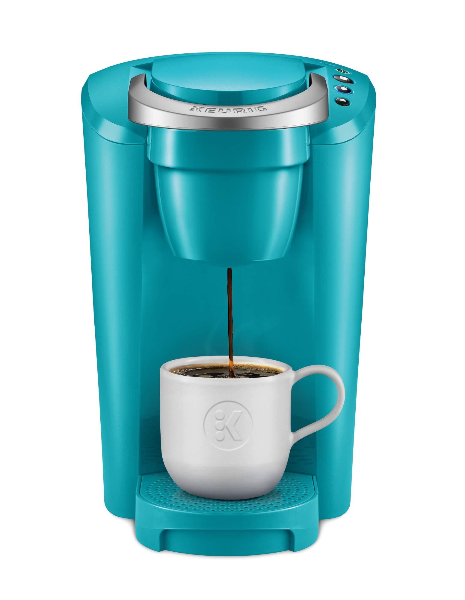 Keurig K-Compact Single-Serve K-Cup Pod Coffee Maker, Turquoise by Keurig