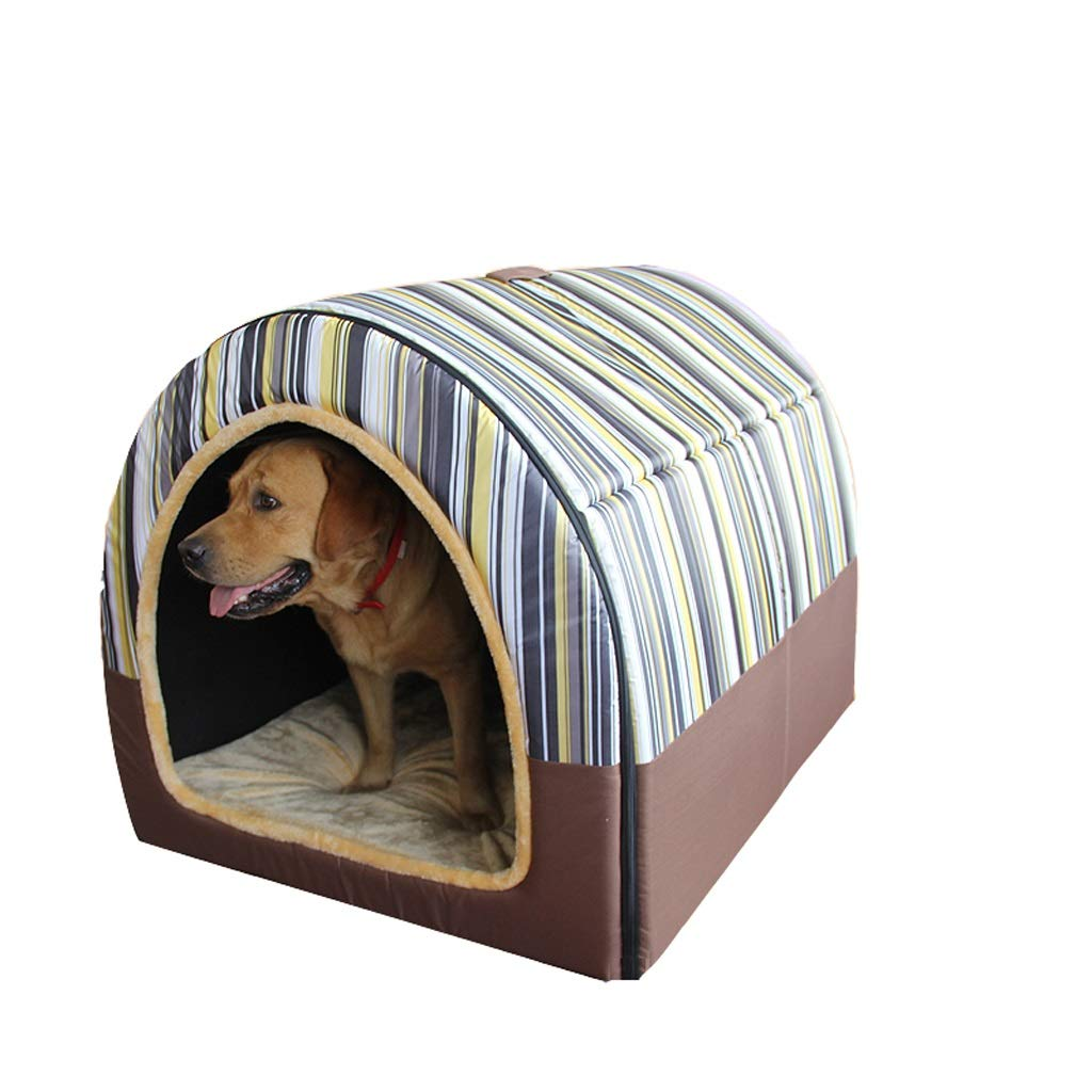 C XX-Large C XX-Large B&F Kennel, 2 In 1 Dog Houses Removable Washable Small Medium-sized Large To Keep Warm Four Seasons Pet Nest (color   C, Size   XXL)